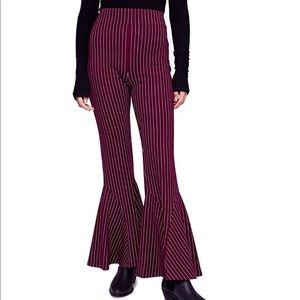 Free People Women's Mari Striped Bottom Pants